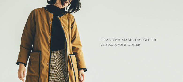 GRANDMA MAMA DAUGHTER 2018 AUTUMN WINTER