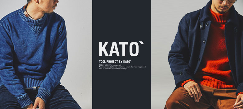 KATO`/ AAA 2018 AUTUMN WINTER