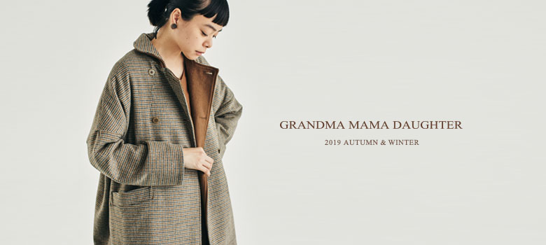 GRANDMA MAMA DAUGHTER 2019 AUTUMN WINTER